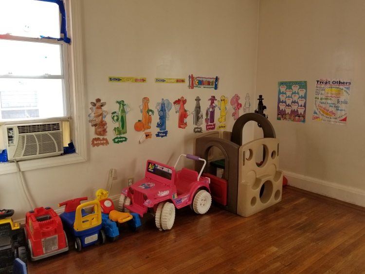 The Little Lambs Day School playroom